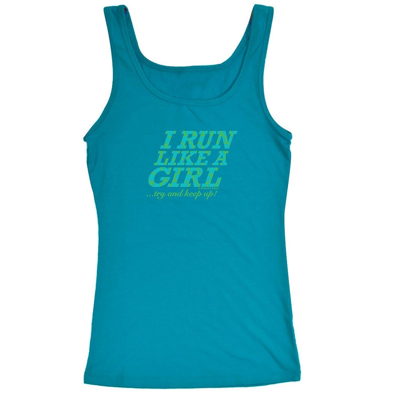 Womens Athletic Tank Top I Run Like a Girl鈥