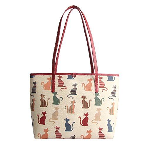 Descrado Fashion For Signare College Cat Bag Women's aYwUxS