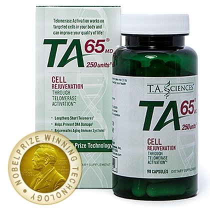 TA-65 (250 Units) 90 Capsules Telomerase Activation Technology