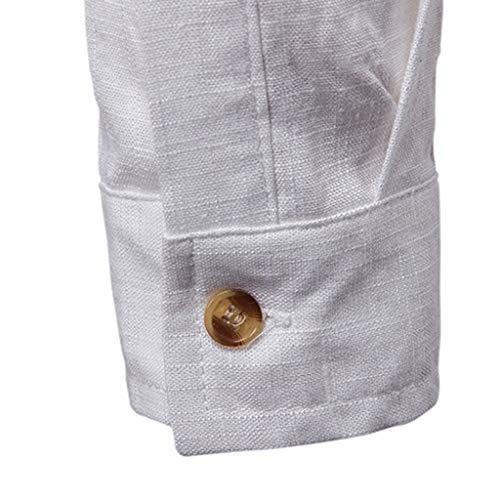 Blanc3 Homme T Manche Tee Ado Blanche Bande Vetement Garçon Mode Coton Top Plaid Chemise shirt Pas Vest Gilet Cher La À Sweat Longue A vgEWWwqcO