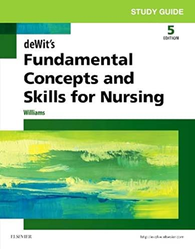 Med surg nursing dewitt study guide answers about this item array study guide for dewit u0027s fundamental concepts and skills for nursing rh amazon com fandeluxe Image collections