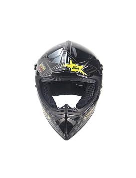 ZYear Casco de Moto de época para Hombres Mujeres Casco de Moto de montaña Full Face