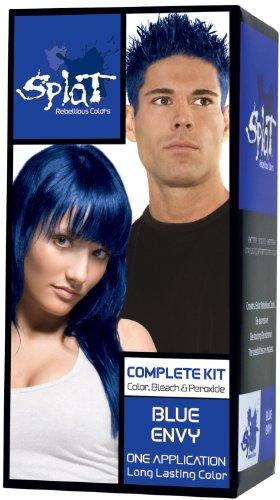 splat hair dye blue envy - 3