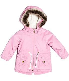 ef20d5573 Minoti Baby Toddler Girls Foil Print Navy Puffa Coat Jacket Faux Fur ...
