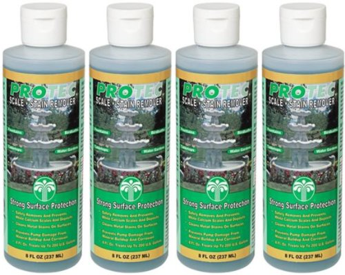 - EasyCare 4 Pack ProTec Scale and Stain Remover - 8 oz