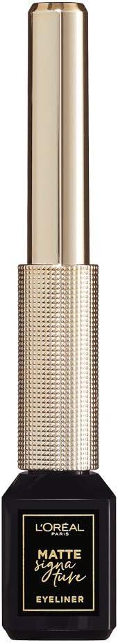 LOréal Paris Makeup - Estuche de regalo para mujer, máscara de pestañas voluminosa, alargadora, pestañas postizas, mariposa y eyeliner, color negro mate, 2 unidades: Amazon.es: Belleza