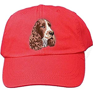 Cherrybrook Red Dog Breed Embroidered Adams Cotton Twill Caps (All Breeds) 6