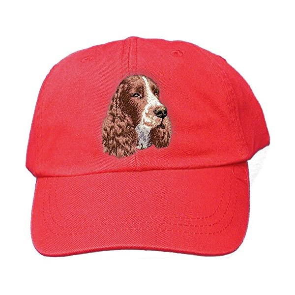 Cherrybrook Red Dog Breed Embroidered Adams Cotton Twill Caps (All Breeds) 1