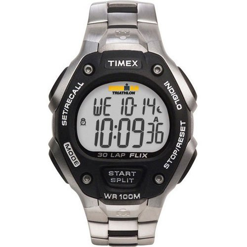 Timex T5H971P4 - Reloj de caballero de cuarzo, correa de acero/resina varios colores