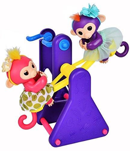 ibayda Monkey Glam 18 Piece Party Pack - Tutu Headband - Dress up Accessories for Baby Fingerlings Monkeys, Unicorns, Sloths, Pandas by ibayda (Image #3)