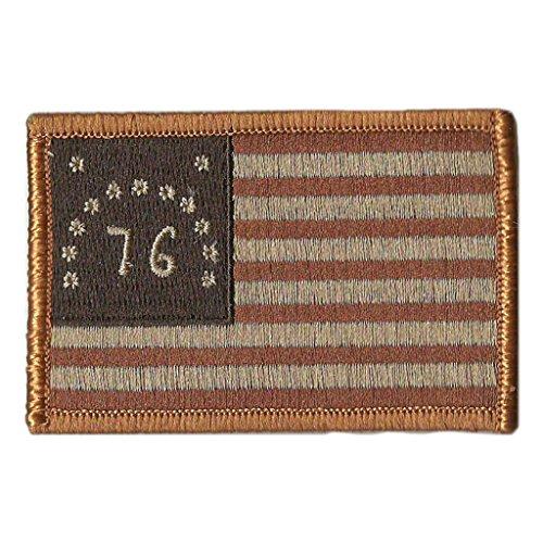 Bennington 1776 Tactical Flag Patch - 2