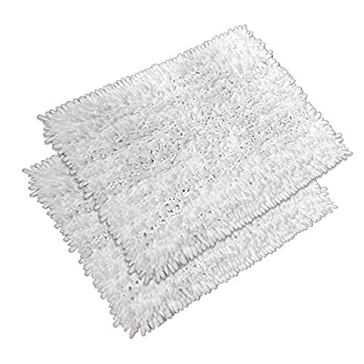 "Raphael Rozen Elegant Bath Set of 2 Microfiber Shag Bath Mat, Non slip Backing, Ultra Soft, Extremely absorbent and Fast Drying. Durable, Easy Cleaning, Machine Washable. 5 White, 17""x24"" - Super soft to the touch, this bathroom rug is designed to quickly absorb water, keeping your bathroom floors dry and clean. The mat's construction, with thousands of individual microfiber bristles, allow the water held in the mat to dry quickly, leaving the mat smelling and feeling clean, dry, and always free of any mold or mildew. The Sturdy design will keep the mat looking the same even after you just got out of the shower Features a non-skid, no-slip backing to keep the bath mat in place, even when wet. The durable non-slip backing will not fade, keeping the mat in place for years. keeping wet feet off of slipper tile and off of a slippery bathroom rug. 100% machine washable for easy care. Simply toss the whole mat into the washing machine, wash cold, hang to dry or air dry flat. The super soft microfiber material will not shrink or turn rough after the wash, keeping your bathroom rug in the same shape as the day you bought it. - bathroom-linens, bathroom, bath-mats - 51Id8HYYBHL. SS400  -"