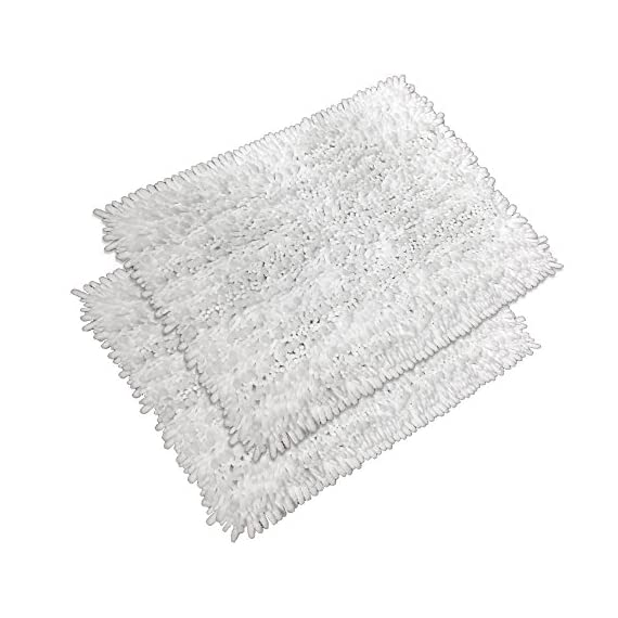 """Raphael Rozen Elegant Bath Set of 2 Microfiber Shag Bath Mat, Non slip Backing, Ultra Soft, Extremely absorbent and Fast Drying. Durable, Easy Cleaning, Machine Washable. 5 White, 17""""x24"""" - Super soft to the touch, this bathroom rug is designed to quickly absorb water, keeping your bathroom floors dry and clean. The mat's construction, with thousands of individual microfiber bristles, allow the water held in the mat to dry quickly, leaving the mat smelling and feeling clean, dry, and always free of any mold or mildew. The Sturdy design will keep the mat looking the same even after you just got out of the shower Features a non-skid, no-slip backing to keep the bath mat in place, even when wet. The durable non-slip backing will not fade, keeping the mat in place for years. keeping wet feet off of slipper tile and off of a slippery bathroom rug. 100% machine washable for easy care. Simply toss the whole mat into the washing machine, wash cold, hang to dry or air dry flat. The super soft microfiber material will not shrink or turn rough after the wash, keeping your bathroom rug in the same shape as the day you bought it. - bathroom-linens, bathroom, bath-mats - 51Id8HYYBHL. SS570  -"""
