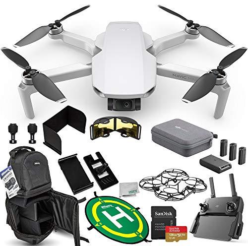 DJI Mavic Mini Portable Drone Quadcopter Fly More Combo Ultimate 128GB Bundle – CP.MA.00000123.01