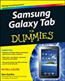 Samsung Galaxy Tab for Dummies, Dan Gookin, 1118024451