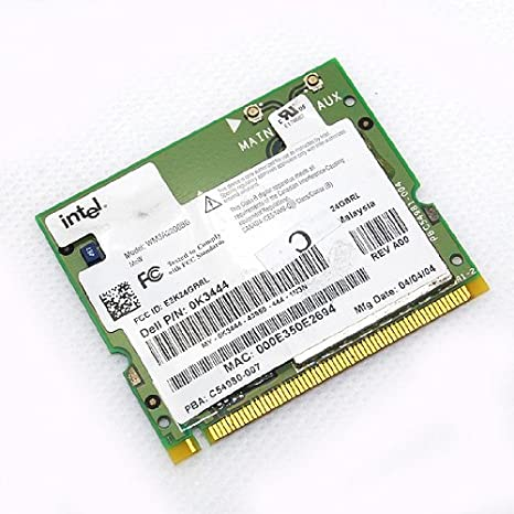 Amazon com: Intel PRO/Wireless 2200BG Mini PCI WiFi LAN Card