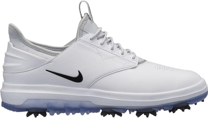 aeropuerto Ya que idea  Nike Wmns Nike Air Zoom Direct, Women's Golf Shoes, Multicolour  (White/Black-Metallic 100), 4 UK (37.5 EU): Amazon.co.uk: Shoes & Bags