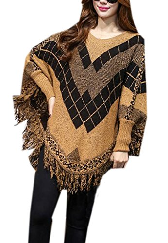 Smile YKK Mode Lange Arm Makramee Muster Damen Sweater Pullover ...