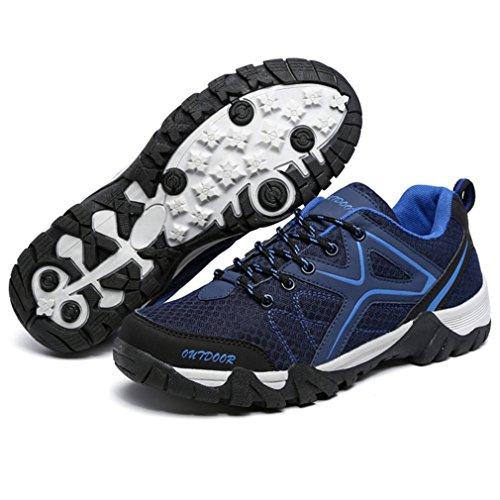 bleu foncé XIGUAFR adulto caño bajo botas de Unisex HwqAYH
