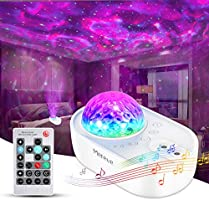Star Projector, Merece 3 in 1 Galaxy Night Light Projector with Remote Control, Bluetooth Music Speaker & 5 White Noises...