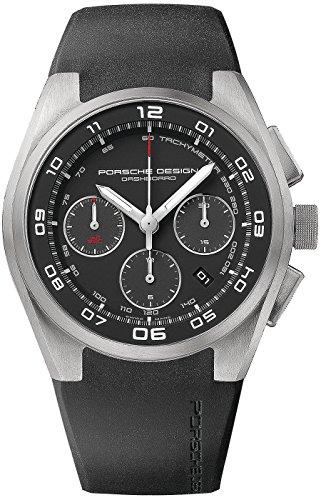 Porsche Design Dashboard Automatic Watch, ETA 7753, Cronograph, Satin titanium