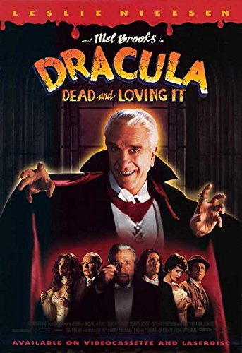 Dracula Dead and Loving It Poster Movie B 11x17 Leslie Nielsen Mel Brooks Peter - Dead Leslie Nielsen