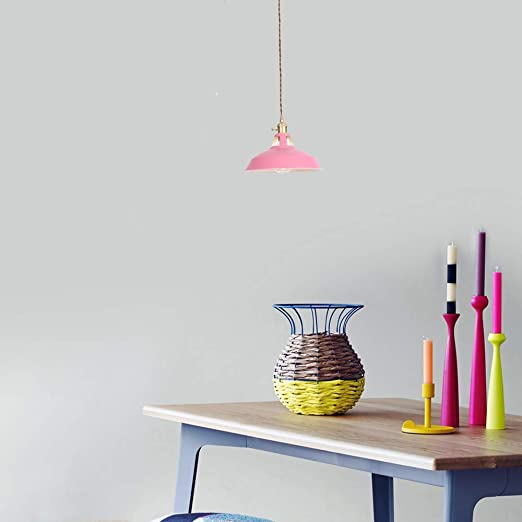 Lámpara de Techo LED Moderna araña Plafón de Hierro Pintado ...