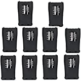 Retevis H-777 Two-way Radio Battery 1000mAh Replacement Li-ion Battery for Baofeng BF-888S Retevis H-777 Walkie Talkie (10 Pack)