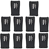 Retevis 1000mAh Replacement Li-ion Battery 2 Way Radio Battery for Baofeng 777S 888S 666S Retevis H777 Walkie Talkie (10 Pack)