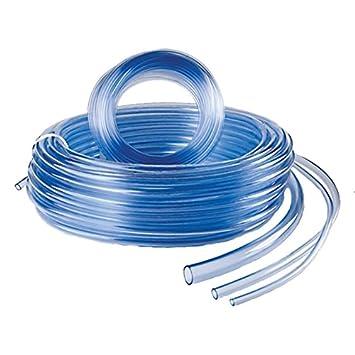 Meterware Klarer PVC Schlauch,Lebensmittelechter,Luftschlauch Größen Ø4 bis 25mm
