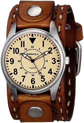 Nemesis Men s 095BDST-N Unique Series Analog Display Japanese Quartz Brown Watch