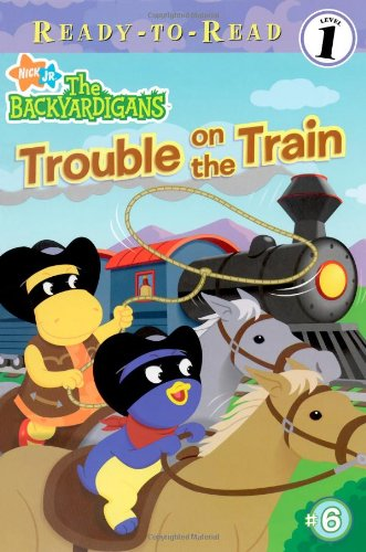 Read Online Trouble on the Train (Backyardigans Ready-To-Read: Level 1) PDF