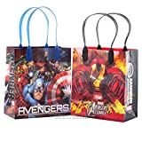 Marvel Avengers Premium Quality Party Favor Goodie Small Gift Bags 12