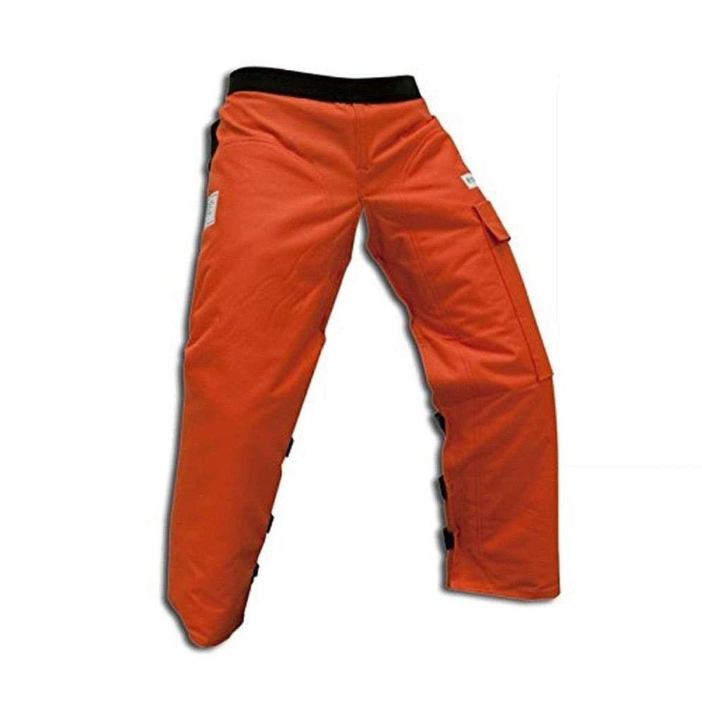 Forester Durable Chainsaw Safety Chaps with Pocket & Adjustable Belt, Apron Style, UL Certified