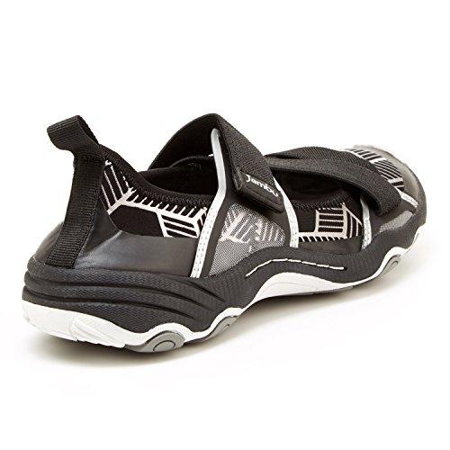Sneaker Omaha-vegan Donna Jambu Nero / Grigio In Neoprene / Lycra