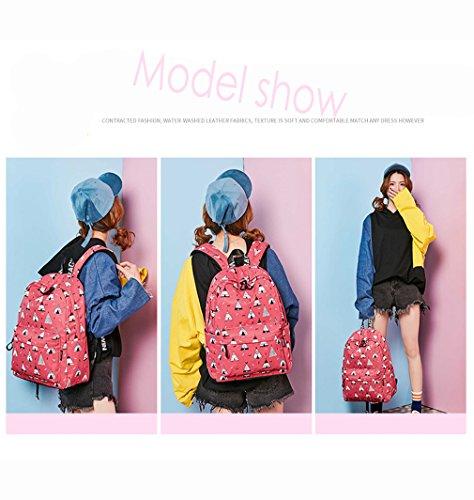8 Poliéster rosa Moda 10 La Niñas Hopeeye De yszsb17 Tendencias Sra Mochila black CXqz1wZFn