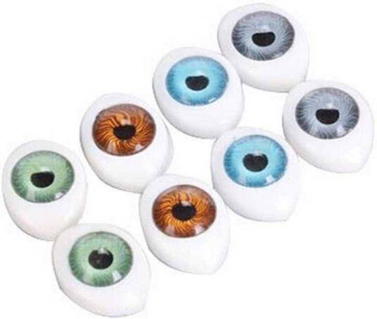 Glass Eyes 11mm Brown Round Taxidermy