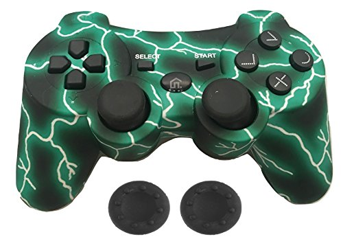 Wireless Ps3 Pad (PS3 Controller Wireless - KPLN PS3 Remote Control Gamepad for PlayStation3, PS3 (Green))