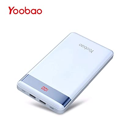 UATECH Yoobao Power Bank 20000mAh para Xiaomi Mi Slim Pover ...