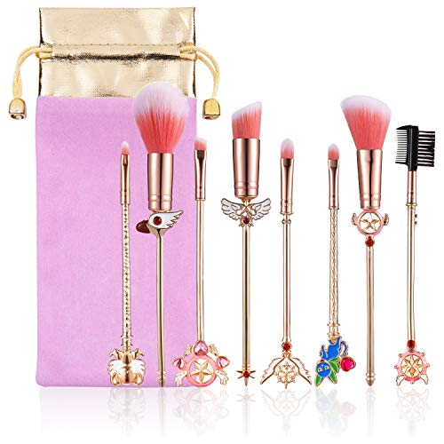 Makeup brush, makeup brush set metal handle foundation mix blush eyeliner eyelash pen loose powder brush beauty tools