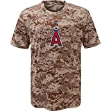 Los Angeles Angels of Anaheim Youth Camouflage T-shirt