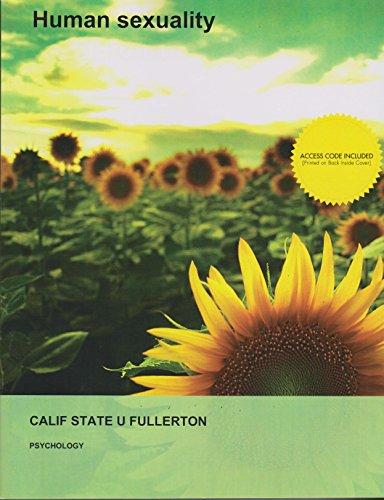 Human Sexuality (California State University Fullerton Custom)