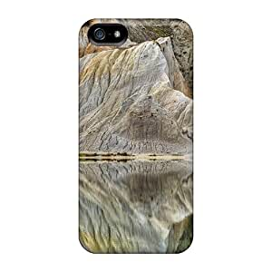 New Customized Design White Cliffs Reflected For Iphone 5/5s Cases Comfortable For Lovers And Friends For Christmas Gifts