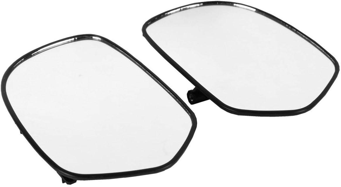 Amazon.com: XMT-MOTO Espejos de visión trasera izquierda y ...