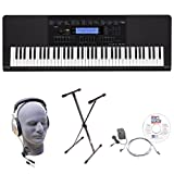 : Casio Inc. WK245 EPA 76-Key EPA Premium Keyboard Package with Headphones, Stand, Power Supply, 6-Foot USB Cable and eMedia Instructional Software