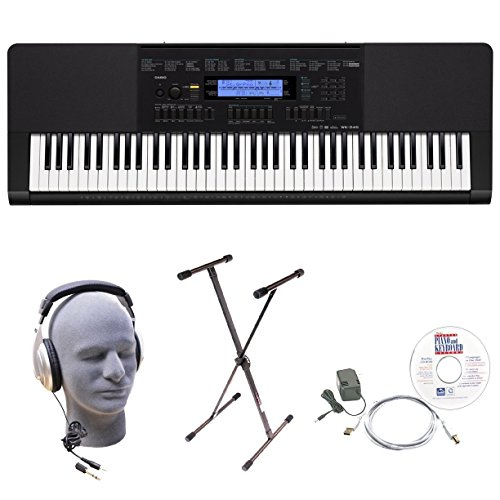 Casio Inc. WK245 EPA 76-Key EPA Premium Keyboard Package wit