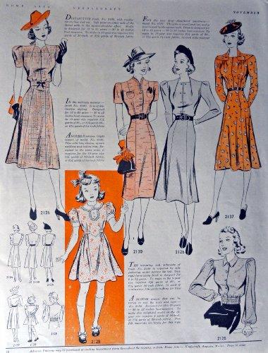fashion 1938 dresses - 9