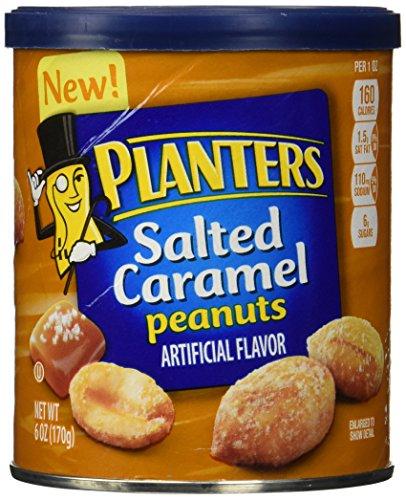 Kraft Planters (Planters Peanuts Salted Caramel, 6)