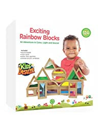 Exciting Shimmering Water, Rainbow, Sound, and Sand Wooden Blocks - An Adventure in Color, Light and Sound BOBEBE Online Baby Store From New York to Miami and Los Angeles