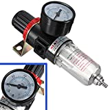 KATUR Pneumatic Air Source Treatment Filter Regulator w Pressure Gauge AFR-2000 Compressors